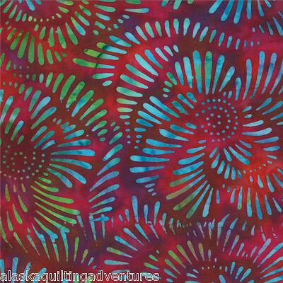 MODA Fabric ~ XANADU BATIKS ~ (4324 27) Jewel - by the 1/2 yard