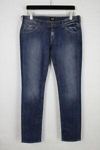 LEE LYNN NARROW Women's W31/L33 Slim Fit Low Waist Stretchy Jeans 36104-GS