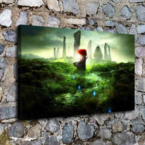 """12/""""x20/"""" Disney HD Canvas print Painting Home Decor Picture Room Wall art Poster"""