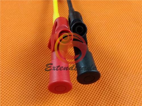 Acier inoxydable pointe le fil 4 mm Socket connecter /& Sans Coupe sonde