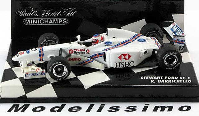 1 43 Minichamps Stewart Ford sf-1 Barrichello 1997