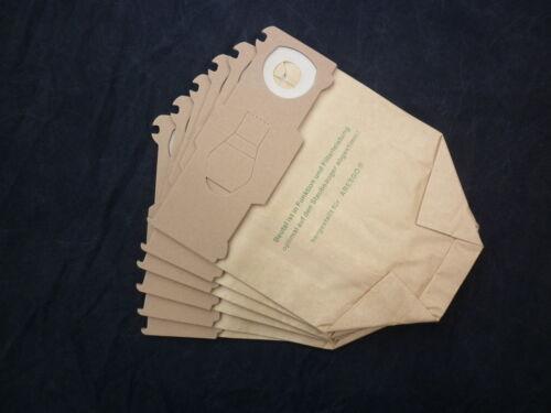 10 Staubbeutel Tüten Papier geeignet Vorwerk Kobold 130 131