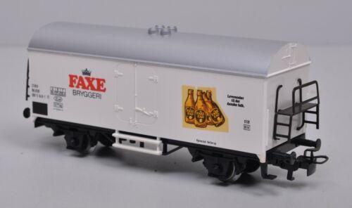 """Märklin Kühl-//Bierwagen /""""FAXE/"""" 081 5 649-1 der DSB neuwertig"""