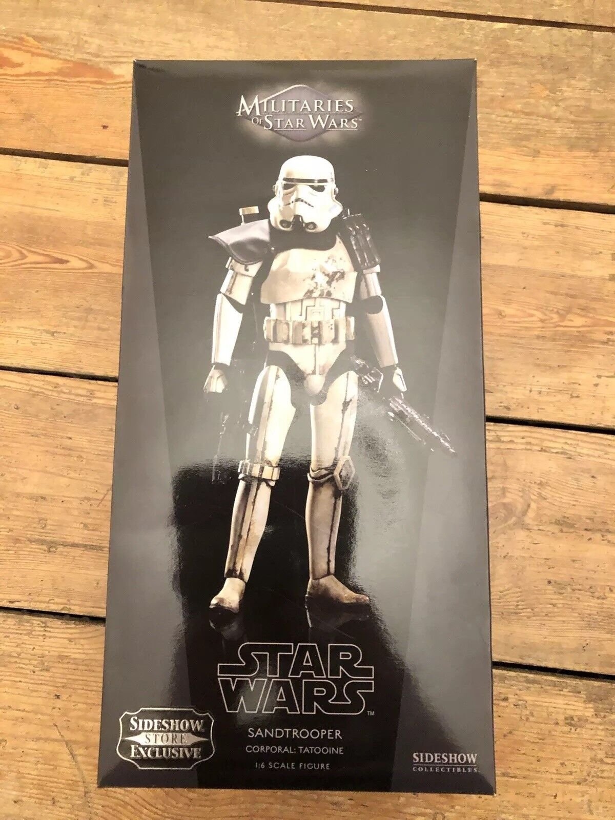 Militarier från stjärnornas krig Sandtroopers exklusiva korpral Tatooine SSC1108