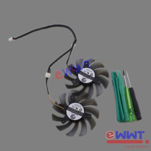 PLD08010S12H-3-Pin-doble-ventilador-de-refrigeracion-de-la-GPU-Herramienta-Para-Gigabyte-Tarjeta-de