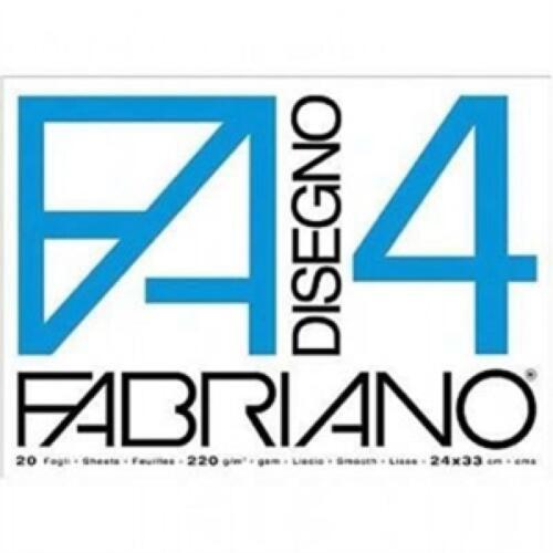 F4 FABRIANO BLOCK GLATTE BOX 33X48