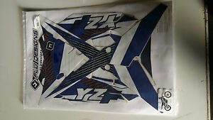 Flu Designs TS1 Yamaha YZF450 YZF 450 Sticker Kit 2014 With seat cover