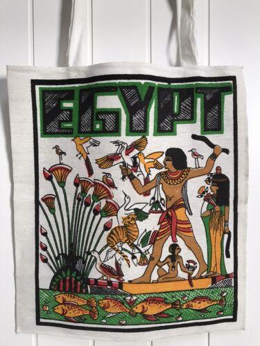 EGYPT Vintage Tote Bag