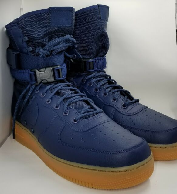 wholesale dealer 0409d d9ee1 Nike Special Field Air Force 1 SF AF1 Midnight Navy Size 13 864024 400