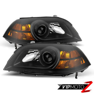 For-04-06-Acura-MDX-Base-Touring-Black-Front-Headlight-Left-Right-Assembly-Lamp
