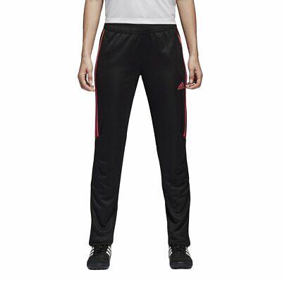Adidas Donna Tiro '17 Pantaloni, Nero / Vero Rosa, S