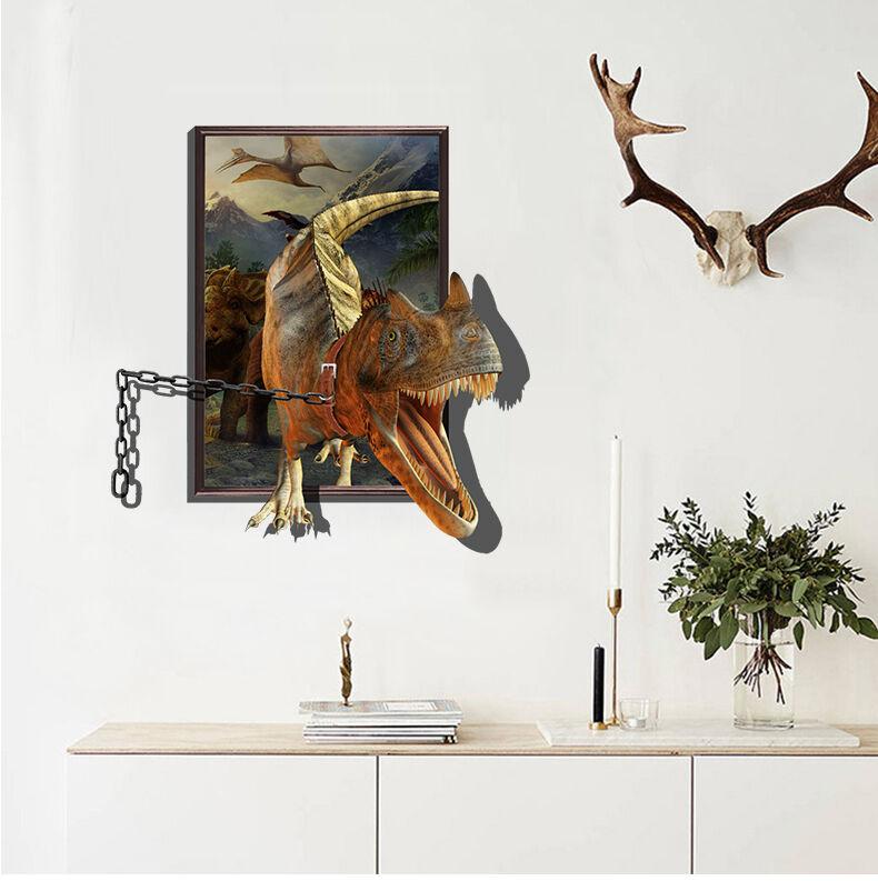 3D Grimmig  Dinosaurier  755 Fototapeten Wandbild BildTapete AJSTORE DE Lemon