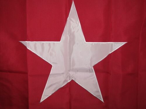 3x5 Embroidered Texas James  Lone Star Long 600D 2ply Nylon Flag 3/'x5/'