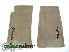 1999-2000 Mazda MX-5 Miata Tan Carpet Floor Mats OEM NEW 0000-88-7198-A5