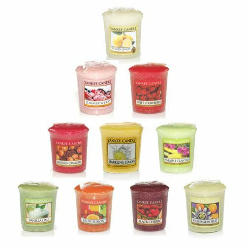Yankee Candle 10 Pack Fruit Samplers