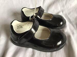 STRIDE-RITE-Girls-Mary-Jane-Black-Patent-Leather-034-Baby-Minnie-034-5W-3664828-NWT