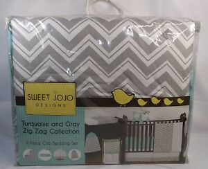Gray And White Chevron Collection Crib Bumper By Sweet Jojo Designs Bedding Hazelsdiner Bumpers
