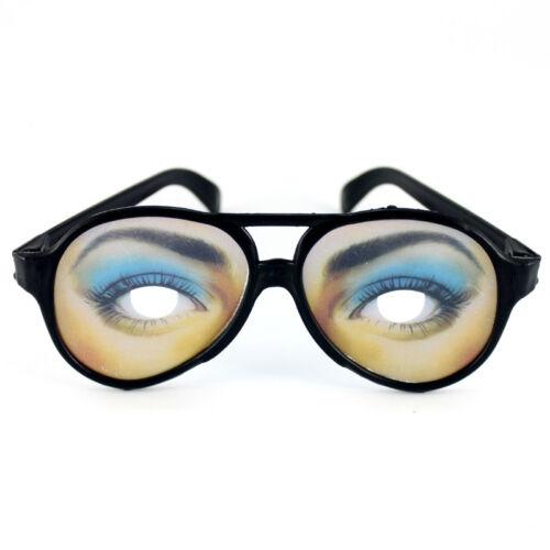 *LOT 12* Funny Plastic Joke Shape Varying Glasses for Party Halloween Cosplay