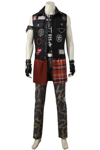 Final Fantasy XV Prompto Argentum Cosplay Fancy Dress Game Costume Halloween