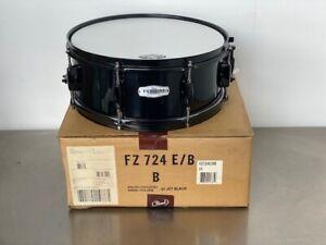 Pearl-Forum-FZ-Snare-Drum-6-ply-poplar-14-X-5-1-2-034-8-Lug-Jet-Black-31-NEW