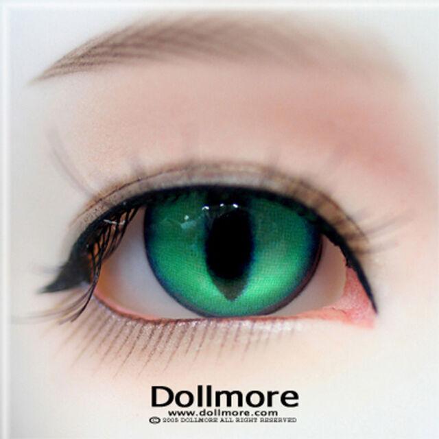 Ewj06 16mm Flashing Eyes For MSD DOD BJD Dollfie Glass Eyes With Orange PF