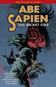 Abe-Sapien-Volume-7-Secret-Fire-GN-Mike-Mignola-Max-Fiumara-Hellboy-BPRD-New-NM