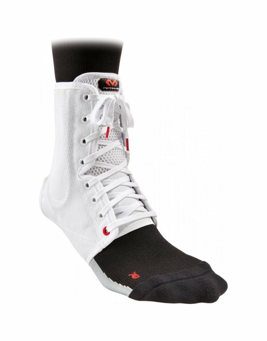 McDavid 199 Lightweight Ankle Support    Brace Lightweight & Laced - White DEAL  welcome to choose