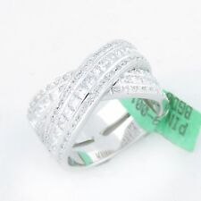 NYJEWEL 18k Solid Gold Stunning Brand New 2.5ct Diamond Cocktail Band Ring $6900