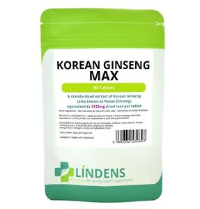 Korean-Ginseng-Max-Double-Pack-180-tablets-50mg-Ginsenosides-Natural-Quality