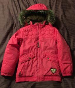 Youth-Girl-039-s-Burton-Ski-Snowboard-Jacket-Pink-Large-10-12-DryRide-Sugar-amp-Spice