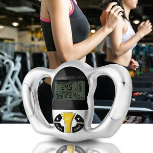 Body Fat Monitor Handheld Body Mass Index BMI Sport Fitness Health Monitor