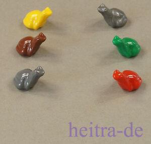 Frösche in vier Farben 4 x Frosch Frog LEGO 33320 NEUWARE