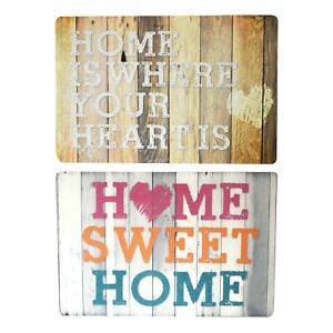 Non-slip-Doormat-Rug-PVC-Home-Indoor-Outdoor-Grey-Brown-Quote-60x40cm-Mat-Floor