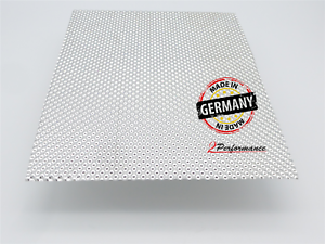 Hitzeblech 500 x 500 mm Edelstahl Schutzblech bis 1000 Grad Turbo Abgasanalge