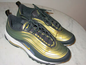 Educación Religioso productos quimicos  2018 Mens Nike Air Max 97 LX Anthracite/Amarillo/White Running Shoes! Size  10 | eBay