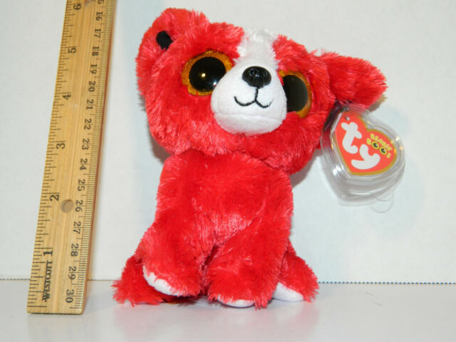e5c9ba26744 RETIRED TY beanie Baby Boos Boo s tomato red dog Gift Show 6
