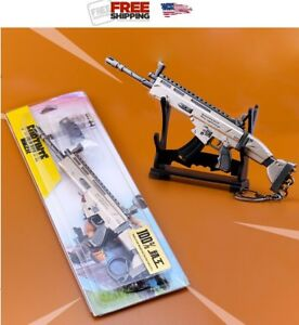 Game Fortnite Battle Royale Assault Rifle Scar Weapon Keychain Key