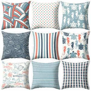 Am-Geometric-Pattern-Square-Throw-Pillow-Case-Cushion-Cover-Modern-Home-Decor-E