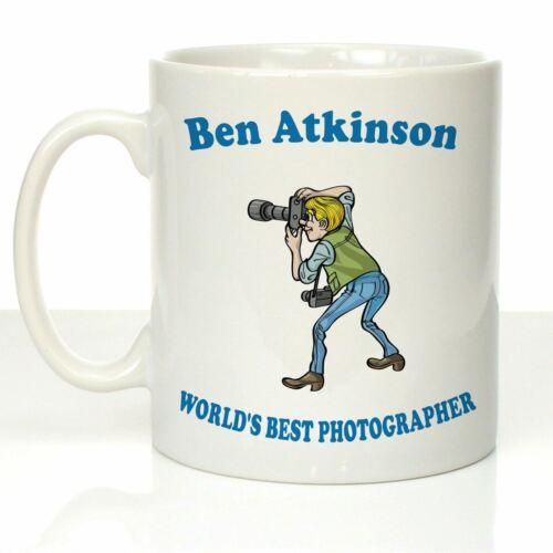 Personalised Thank You Mug Gift Idea For Professional Male Wedding Photographers