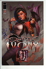 Dark Ivory (2008) #1 Signed by Joseph Michael Linsner no COA First Print NM-