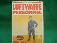 Airfix Vintage 1/72 Ho/oo Scale Ww2 German Luftwaffe Personnel In Box X 48