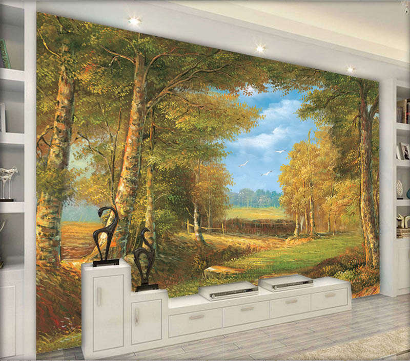 Creative Vast Sky 3D Full Wall Mural Photo Wallpaper Printing Home Kids Decor