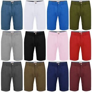 Mens Chino Shorts by Stallion Summer Cotton Casual Half Pant New ... 65d8c7bbd