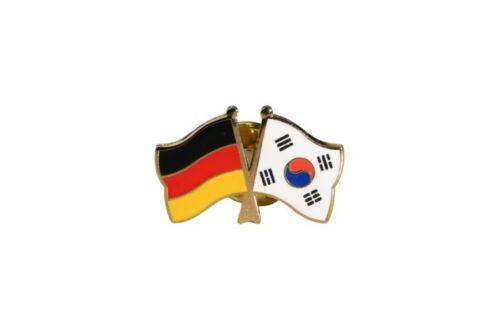 Allemagne-Corée du sud drapeaux pin drapeaux pins Fahnenpin Flaggenpin le pins