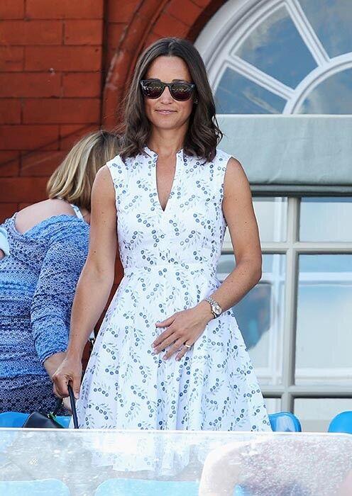 Tory Burch Talley Vestido Pippa Middleton Fit  & Flare XL Cereza impresión tamaño 14  alta calidad general