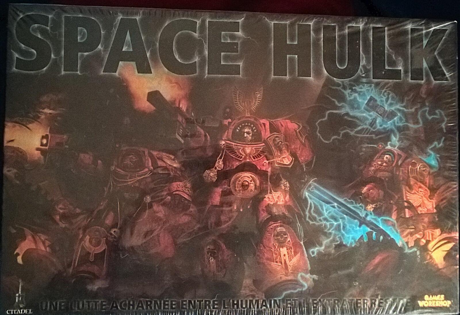 Boite Space Hulk FRANCAIS warhammer 40000 neuve