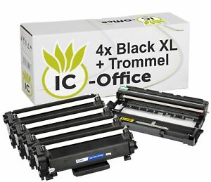 4x-Toner-Drum-for-Brother-tn2420-DR2400-XL-mfc-l2730dw-l2732dw-l2735dw-l2750dw