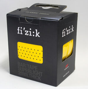 Fizik Bar Tape SUPERLIGHT Classic Touch Microtex 2mm Racing Yellow