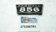 Plate 856 Farmall Model