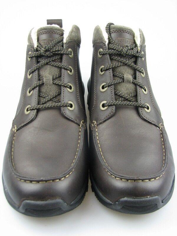 Cómodo y bien parecido Camel-active señores zapato bajo nepal cuero marrón forro cálido talla 7,5